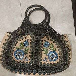 Isabella Fiore braided leather bag